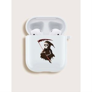 The Grim Reaper Pattern AirPods Case💀